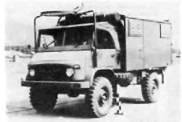 """Модель """"Унимог"""" S с кузовом-фургоном для самых разных целей"""