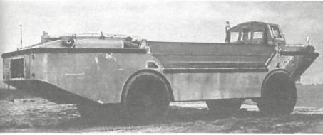 Машина LARC-5 для полезного груза 4500 кг.