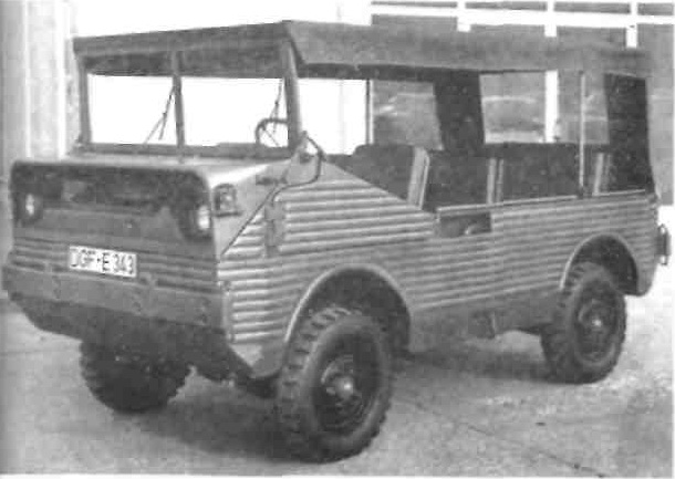 Автомобиль повышенной проходимости Glas BMW Прототип 1967/68 гг.