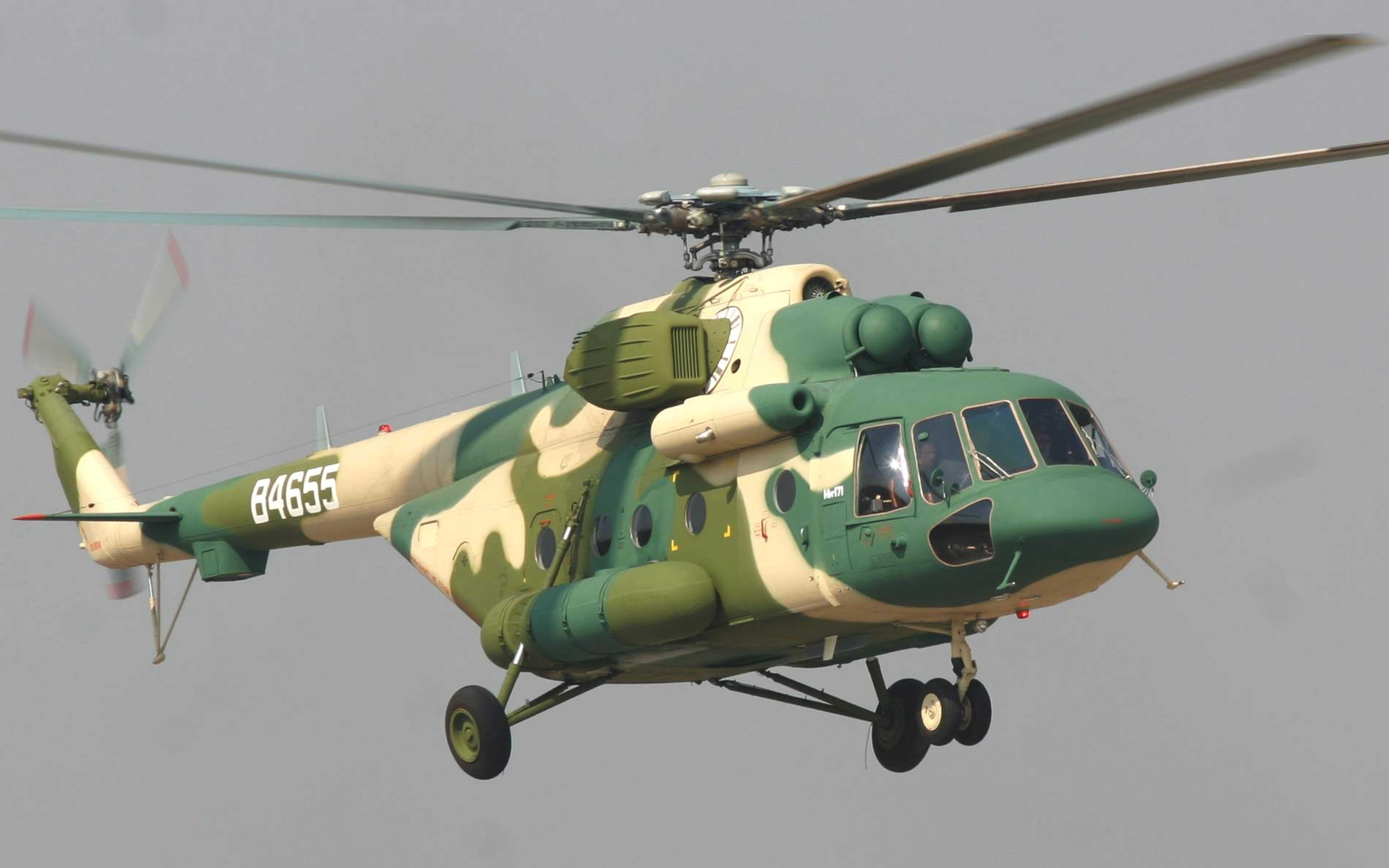 Вертолёт Ми-171Е Фото ОАО «Вертолеты России»