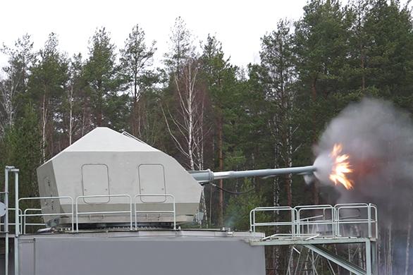 Артиллерийская установка А190-01 ОАО ЦНИИ «Буревестник» Фото с сайта http://uvz.ru/presscenter/release/293