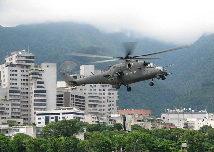 Ми-35М ВВС Венесуэлы