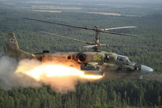 Ка-52 «Аллигатор» Фото ОАО «Вертолёты России»