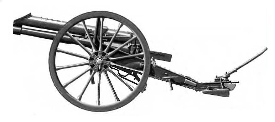 Скорострельная 15-фунтовая 3-дюймовая полевая пушка