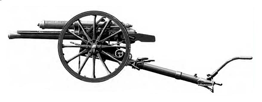 Скорострельная 18-фунтовая 83,8-мм полевая пушка