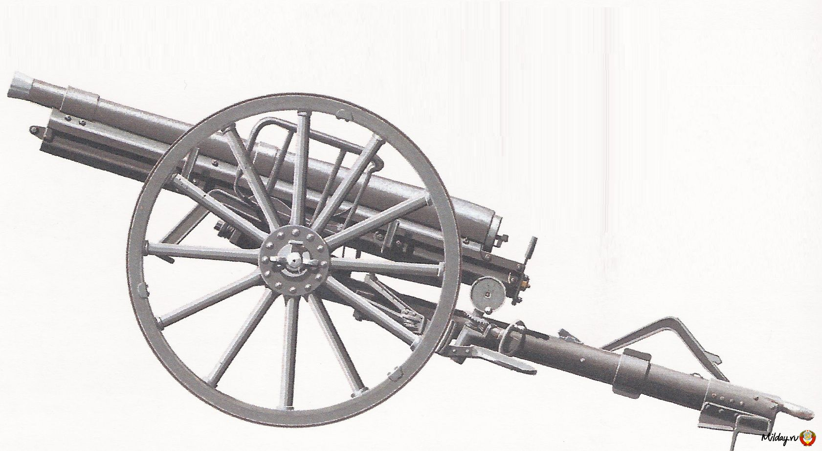 15-фунтовая полевая пушка концерна «Эрхард»