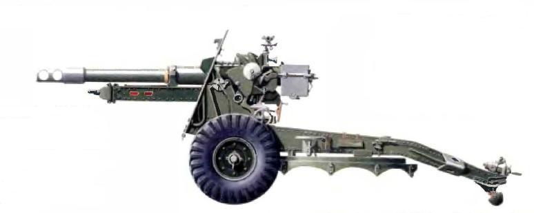 Скорострельная 25-фунтовая пушка/гаубица