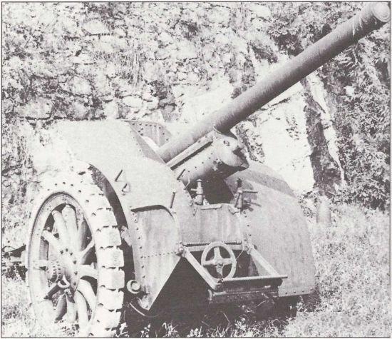 76,5-мм пушка, модель 30, и 100-мм гаубица, модель 30