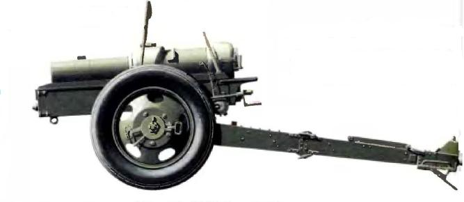 Легкая 95-мм пехотная гаубица Mk II