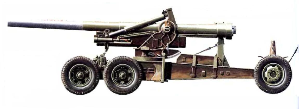 Тяжелая 155-мм пушка М1