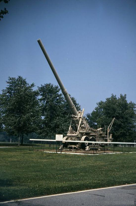 Немецкие сверхтяжелые орудия К 3 и Н М.1