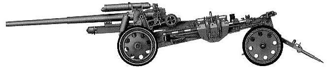 Тяжелая 150-мм полевая пушка К 18. Орудие береговой обороны