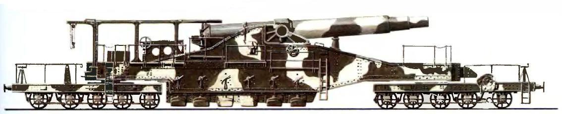 Французское железнодорожное 320-мм орудие