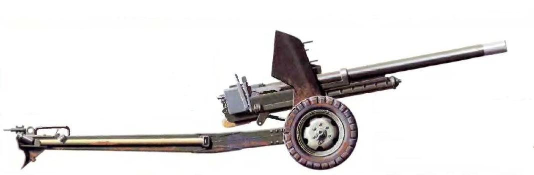 Скорострельная 6-фунтовая противотанковая 57-мм пушка