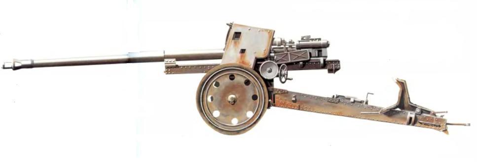 Обзор 88-мм противотанковая пушка Pak 43/41
