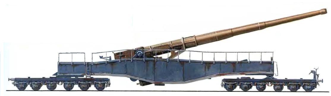 Железнодорожное орудие К 5 (Е)
