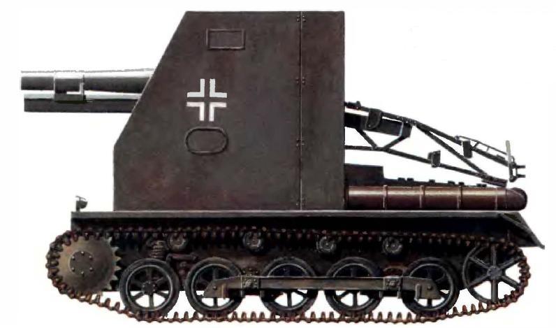 Самоходная пехотная гаубица sIG 33