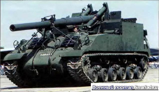 Удобное для расчета, открытое боевое отделение М40 выглядит странно по современным представлениям. С появлением ядерного оружия это стало недопустимым.