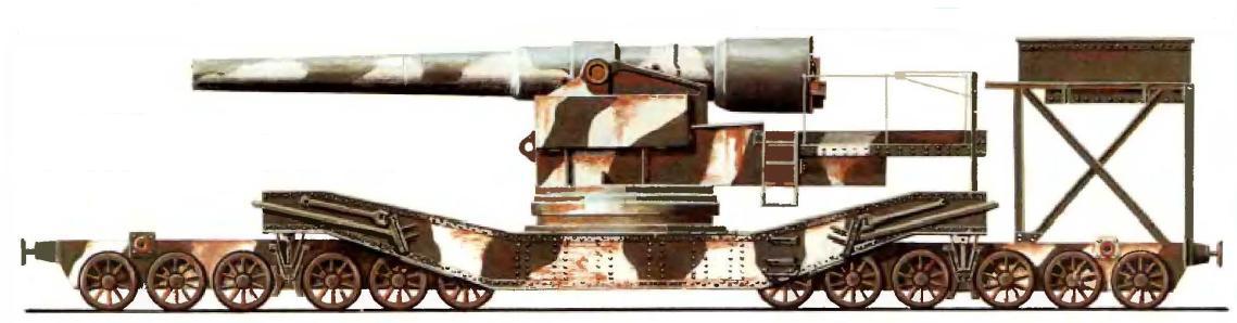 Железнодорожная 240-мм пушка образца 1893/96 годов