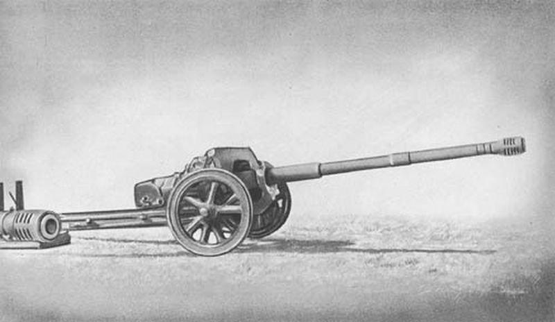 Противотанковая пушка с конической расточкой sPzB 41, 75-мм пушка Pak 41