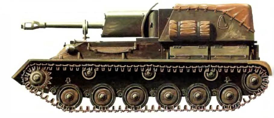 Самоходная 76,2-мм пушка СУ-76