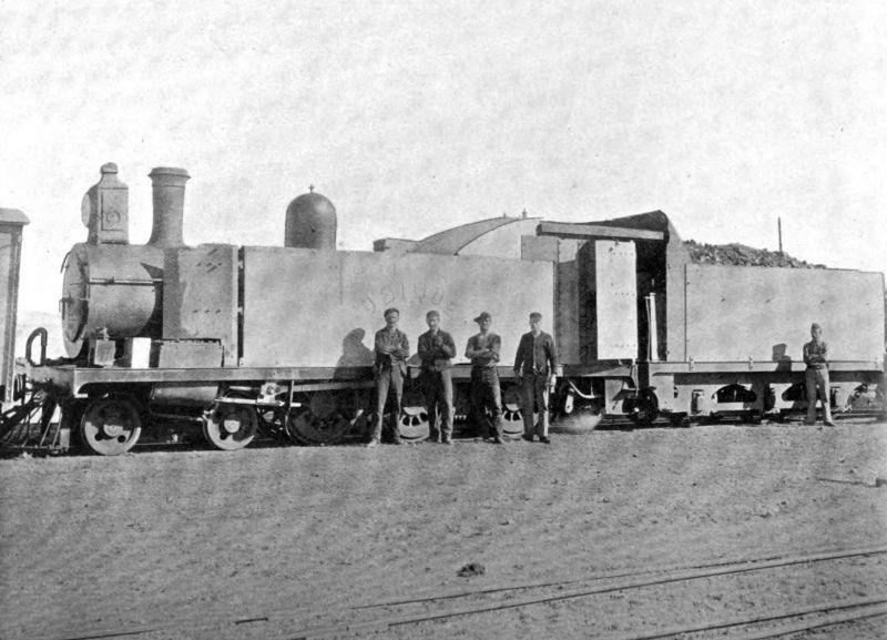 Общее описание: Английские бронепоезда