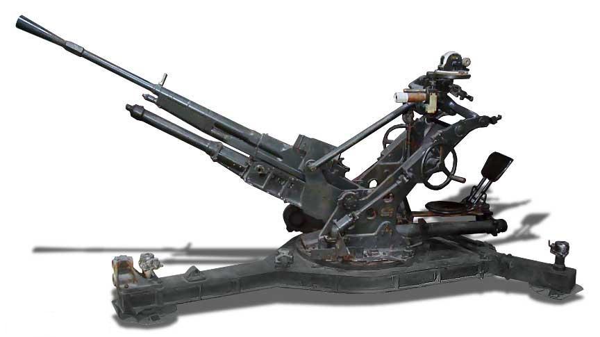 Легкие противовоздушные 25-мм пушки концерна «Гочкис» обр. 1938, 1939, 1940 годов