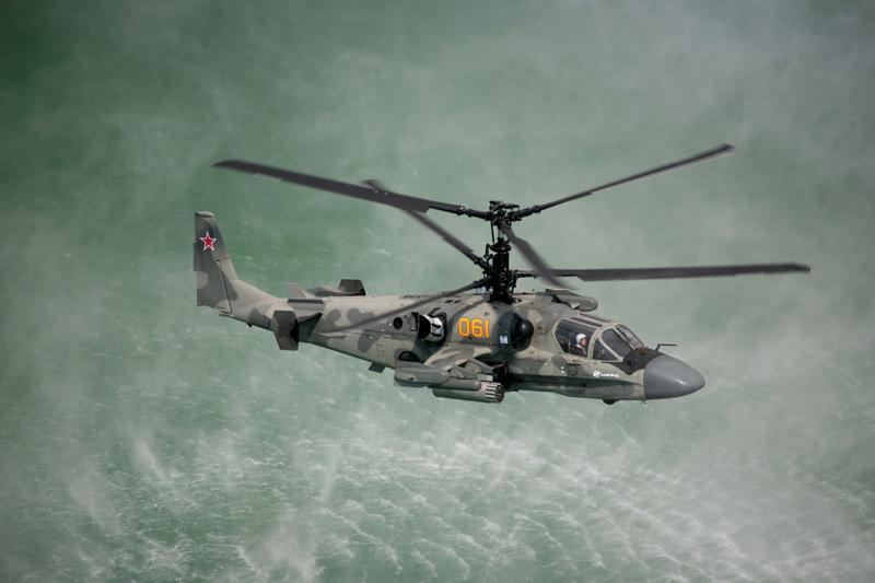 Ка-52 «Аллигатор» Singapore 2014 Фото ОАО «Вертолёты России»