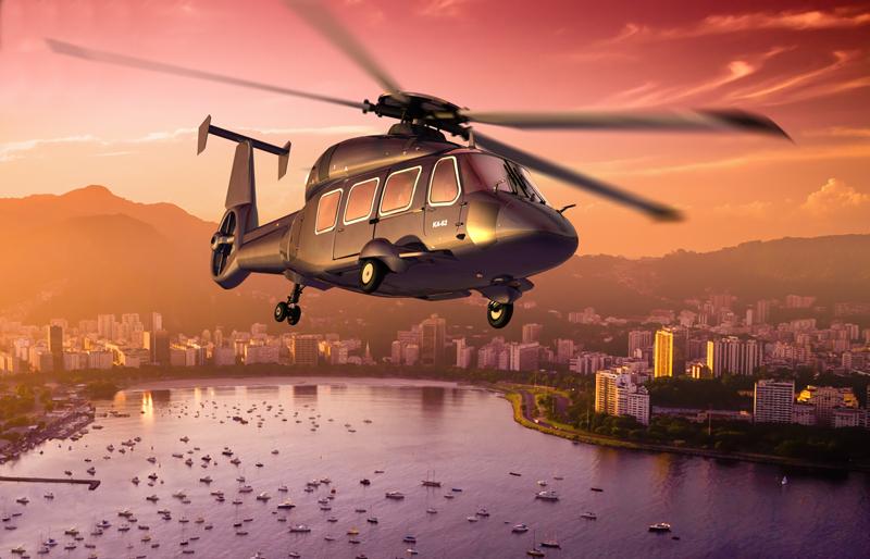 Ка-62 Singapore 2014 Фото ОАО «Вертолёты России»