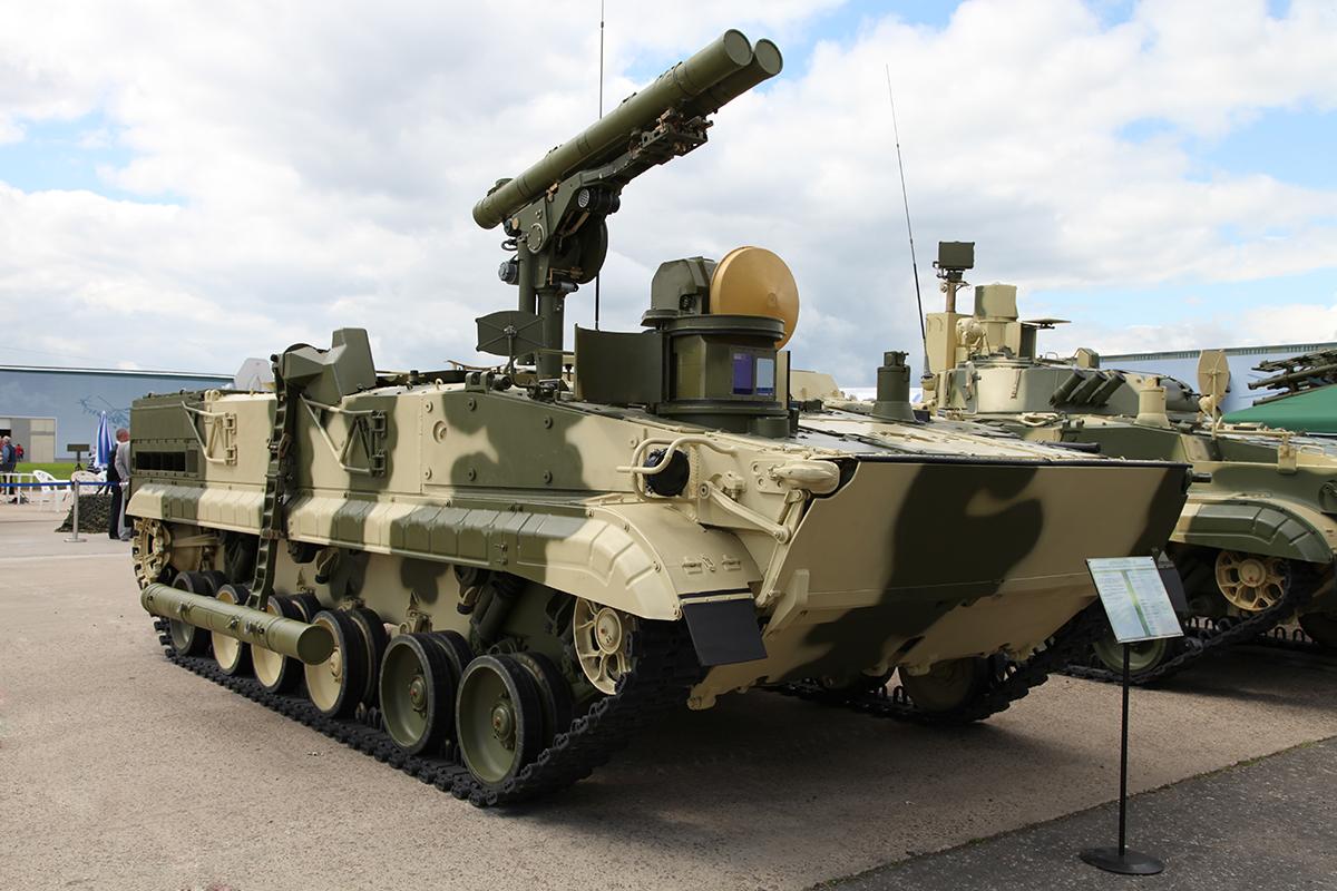 Cамоходный противотанковый ракетный комплекс «Хризантема-С» Фото с сайта http://rostec.ru