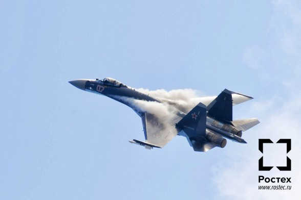 Истребитель Су-35С Фото с сайта http://rostec.ru