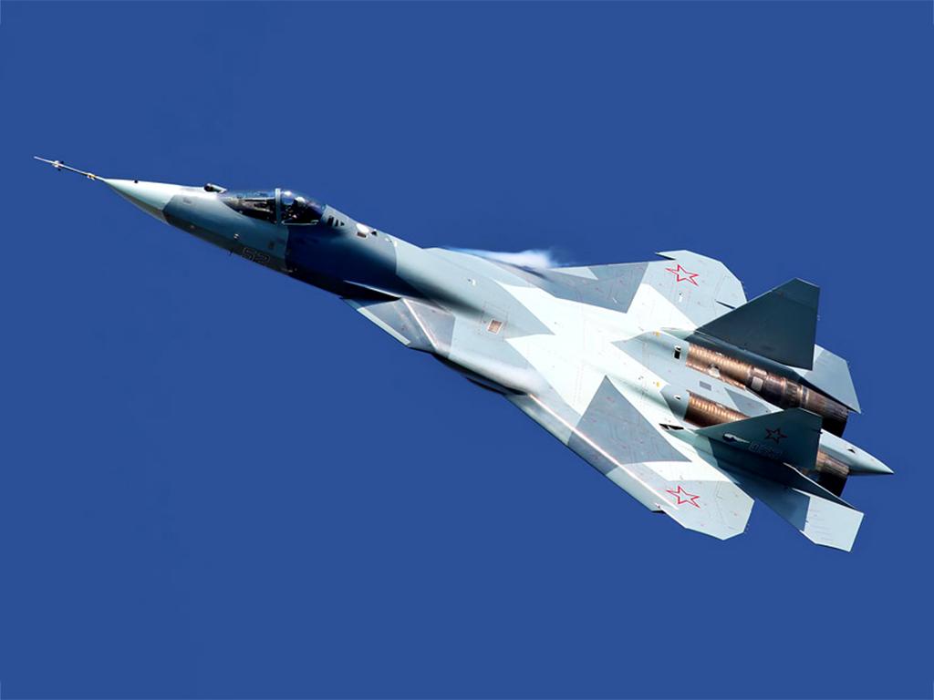 Истребителе Т-50 Фото с сайта http://rostec.ru