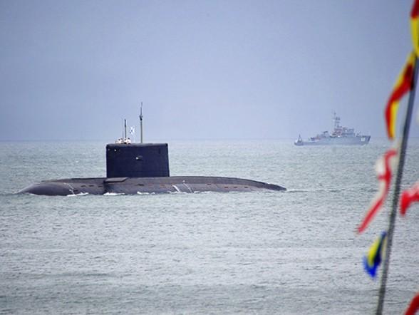 Подводная лодка проекта 636 «Варшавянка» Фото с сайта http://rostec.ru