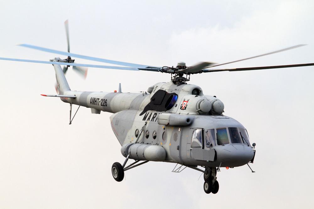 Многоцелевой вертолет Ми-17В-5 Фото ОАО «Вертолёты России»