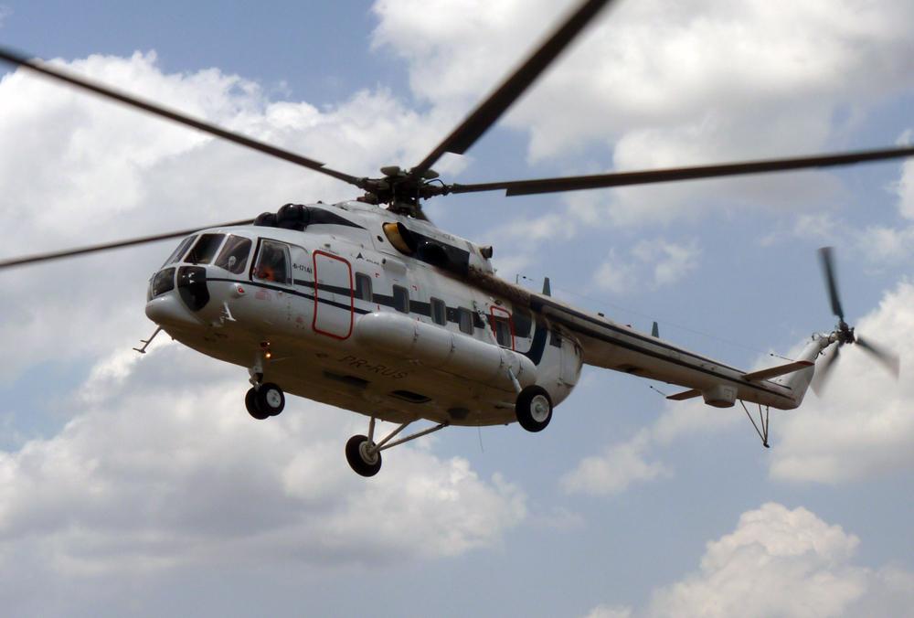 Многоцелевой вертолет Ми-171А1 Фото ОАО «Вертолёты России»