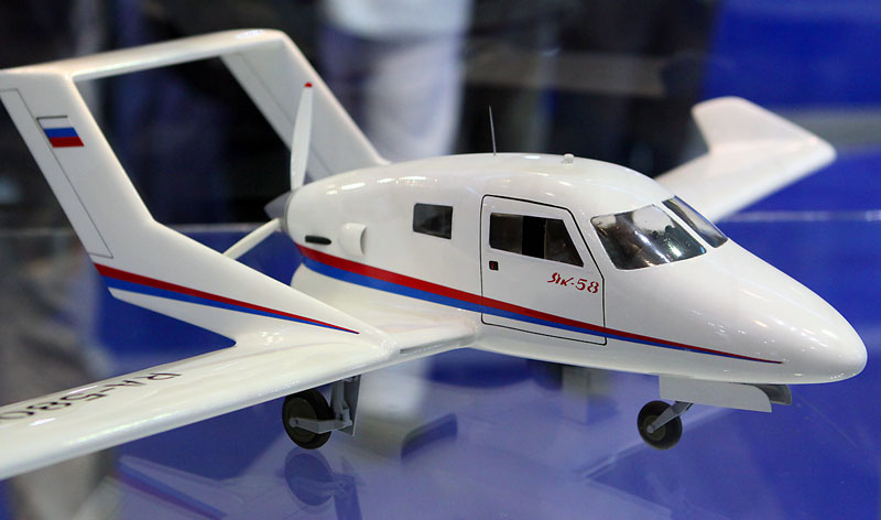 Як-58 легкий многоцелевой самолет