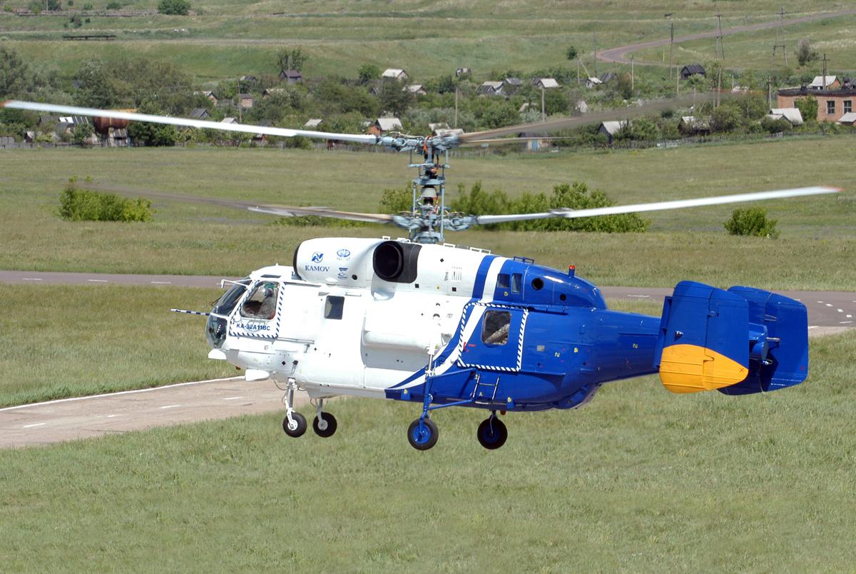 Многоцелевой Ка-32A11BC Фото ОАО «Вертолёты России»