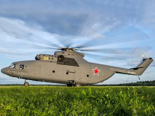 Российским Ми-26 Фото с сайта http://rostec.ru