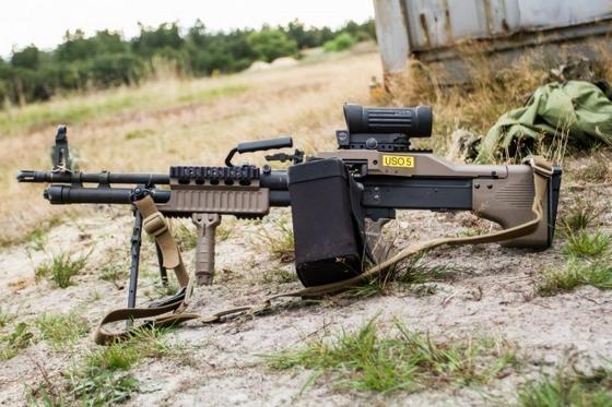7,62-мм пулемет M60E6 Фото с сайта http://www.armstrade.org