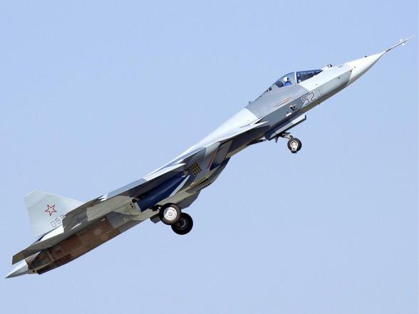 Истребитель пятого поколения Т-50 Фото с сайта http://rostec.ru