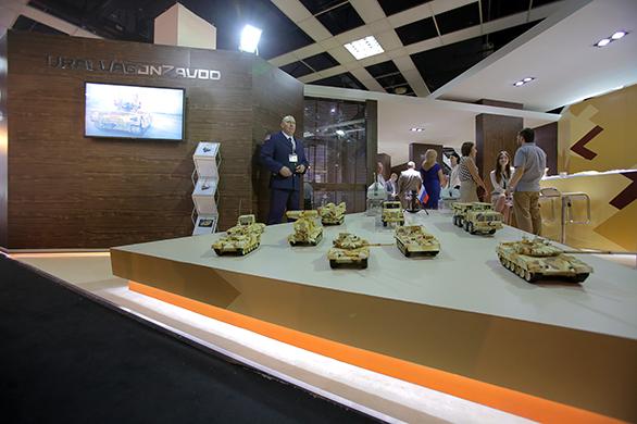 Корпорация УВЗ на выставке в Малайзии Фото с сайта ОАО «Научно-производственная корпорация «Уралвагонзавод»