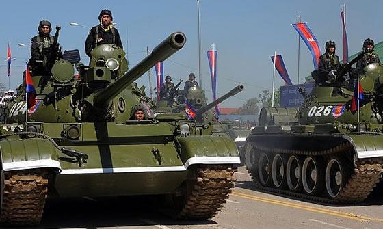 Компания «Дефтех» предлагает Камбодже и Мьянме модернизировать танки советского производства Фото с сайта http://www.armstrade.org