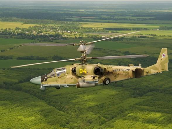Ка-52 «Аллигатор» Фото с сайта http://rostec.ru