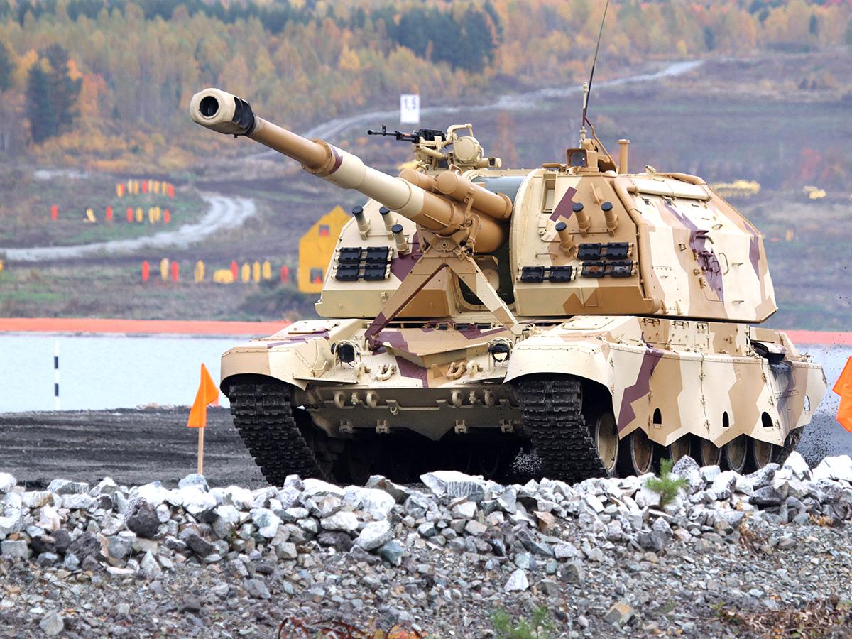 152-мм самоходная артиллерийская установка 2С19М2 «Мста-С» Фото с сайта http://rostec.ru
