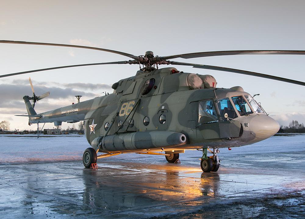 Ми-8МТВ-5 Фото ОАО «Вертолёты России»