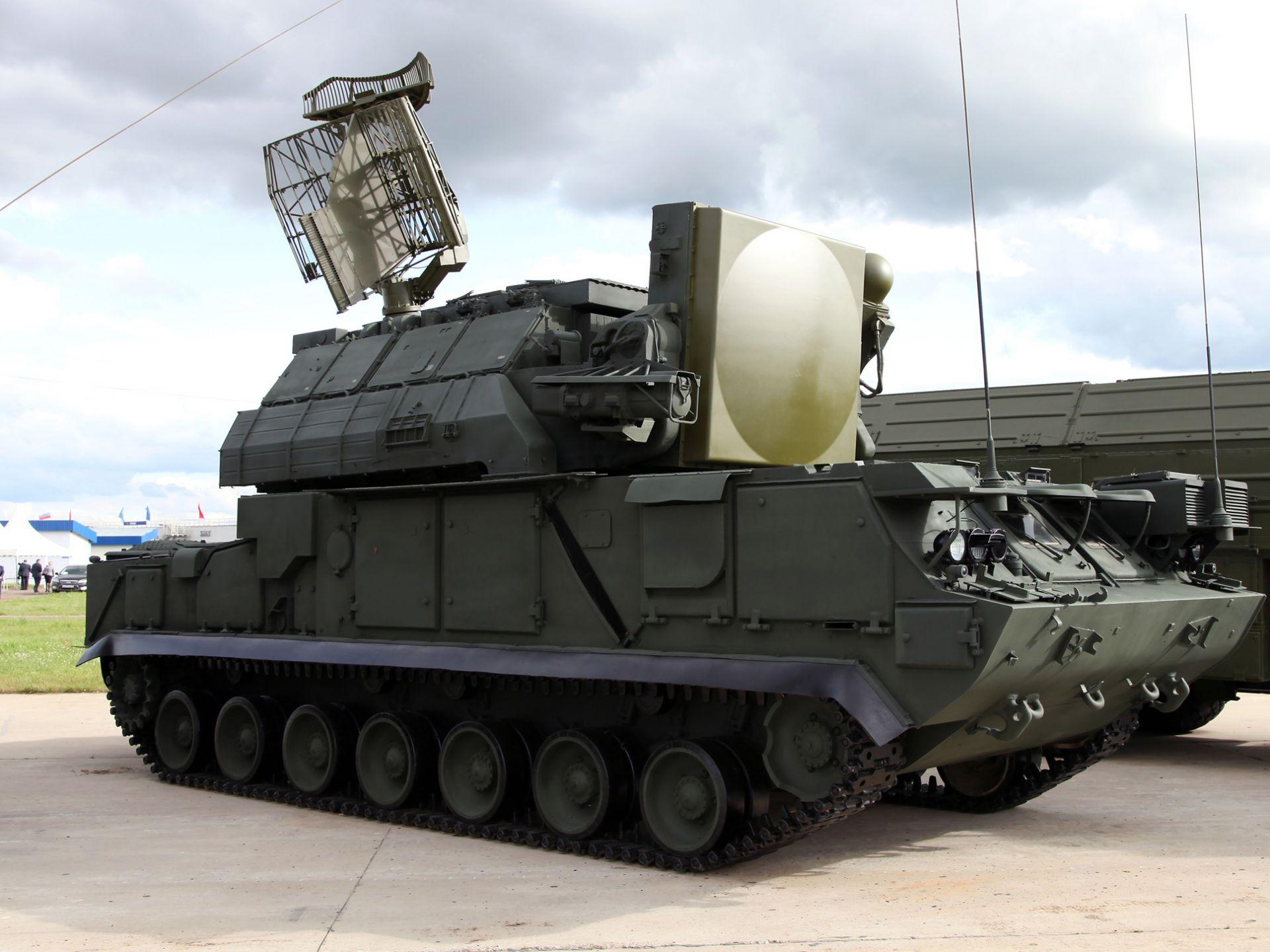 ПВО «Тор-М2У» Фото с сайта http://rostec.ru