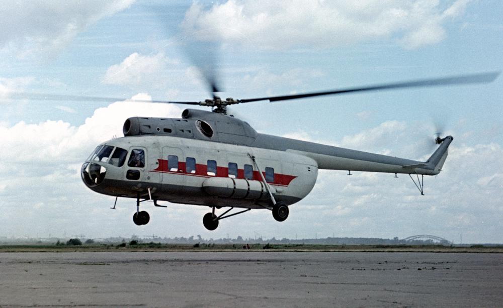 В-8 Прототип Серий Ми-8/17 Фото ОАО «Вертолёты России»