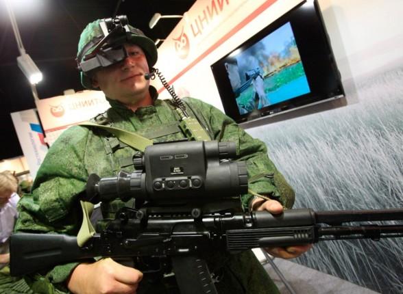 Ростех покажет новинки боевой экипировки на «Евросатори-2014» Фото с сайта http://rostec.r