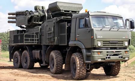 "ЗРПК ""Панцирь С-1"". Фото с сайта wheelsage.org"