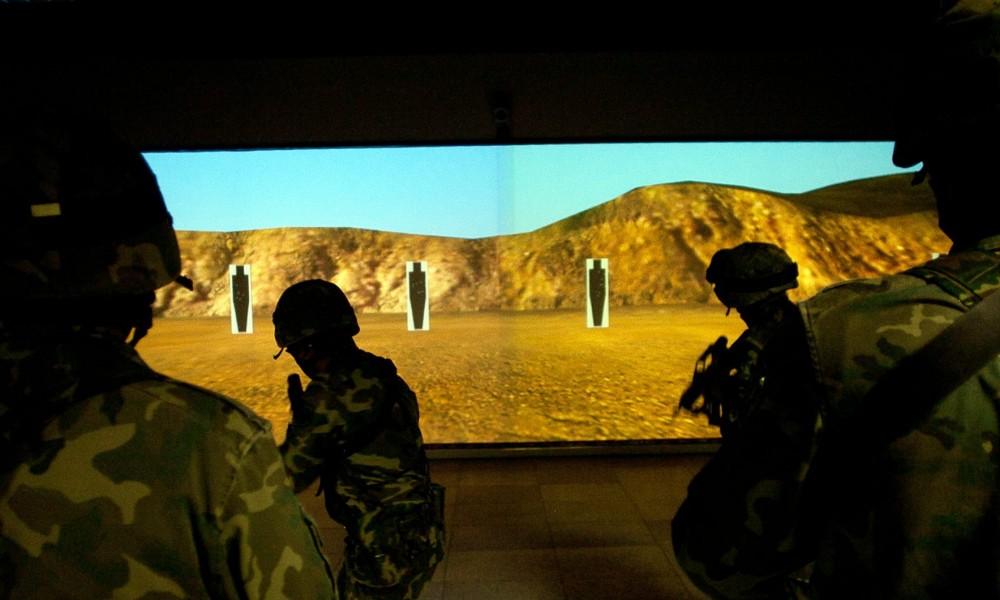 """Тактический огнестрельный симулятор """"Victrix"""". Фото с сайта abcblogs.abc.es"""